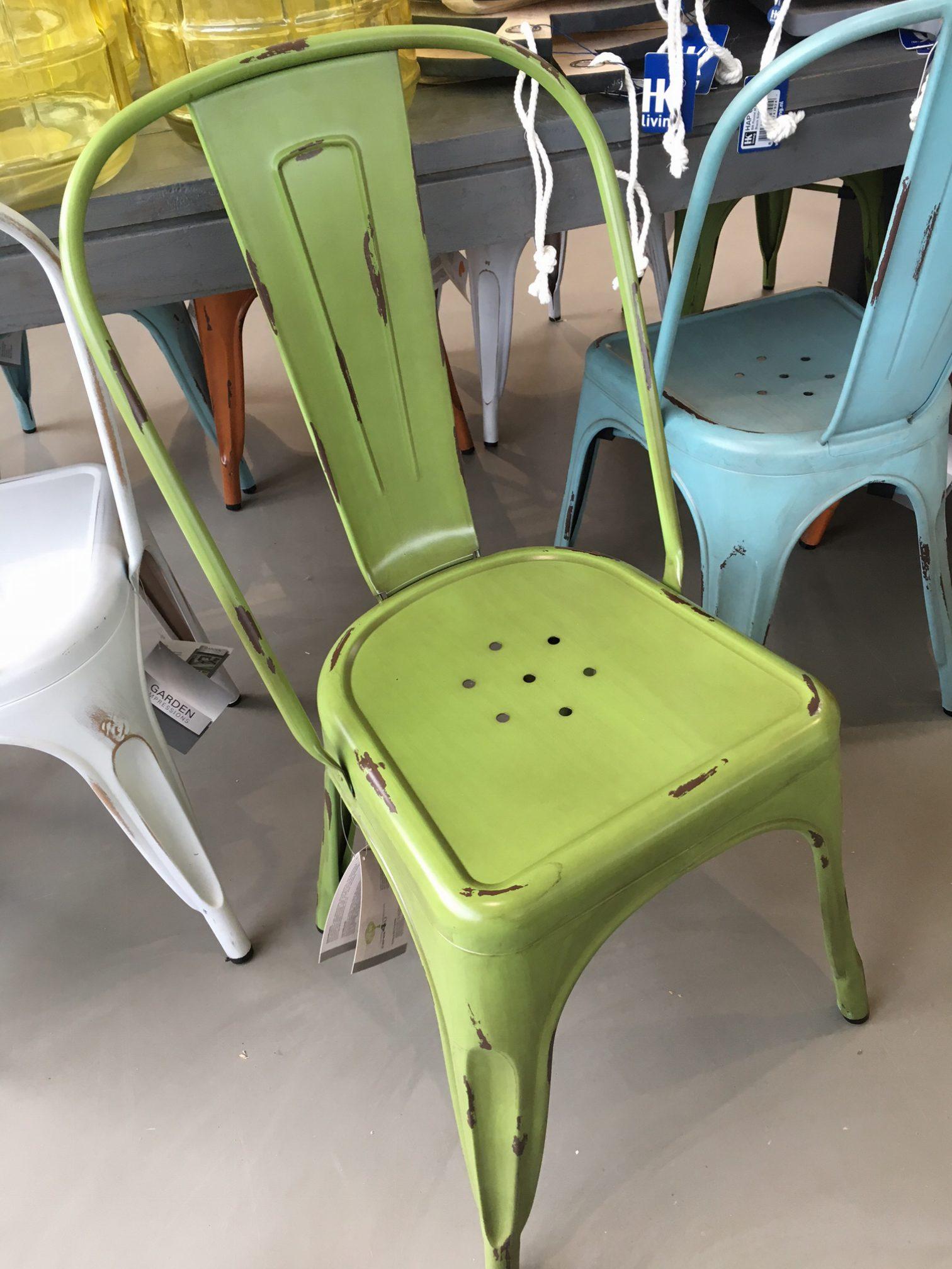 Vintage stoel - Groen