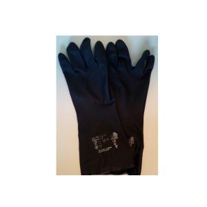 Rubberen-handsschoen