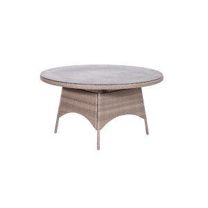 DoeHetZelf Outlet – Dronten-Garden Impressions Lumio tafel rond 150 cm wicker shadow grey