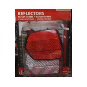 DoeHetZelf Outlet – Dronten-fiets onderdelen-reflectors-rood-wit