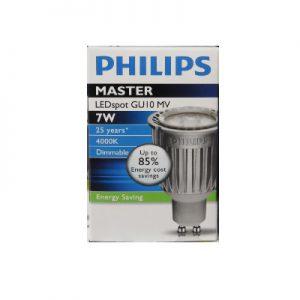 DoeHetZelf Outlet – Dronten-Philips LEDspot GU10 7W MV (MASTER) Dimbaar Koel Wit