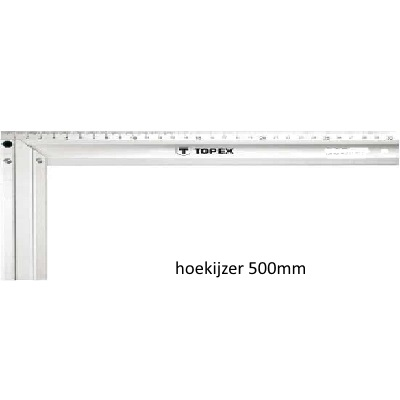 DoeHetZelf Outlet – Dronten-TOPEX Hoekijzer 500 mm