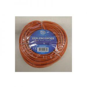 DoeHetZelf Outlet – Dronten-VB Verlengkabel 20M 2x1mm Oranje