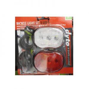 DoeHetZelf Outlet – Dronten-dyto Fietsverlichtingsset - Classic - LED - Zwart1