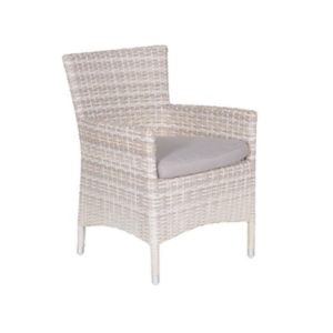 DoeHetZelf Outlet – Dronten-Garden Impressions-Nicosia dining fauteuil passion willow 2-half sand 05794SO
