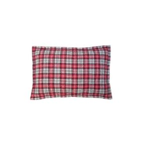 DoeHetZelf Outlet – Dronten-hk-living-Storebror Red Quilted Fleece cushion IKB2005