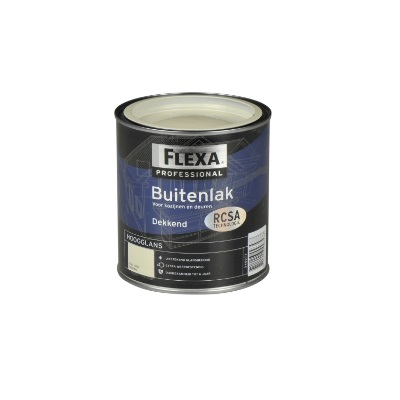 Beroemd Flexa Buitenlak Hoogglans 750 ml   DoeHetZelf OUTLET Dronten QF87