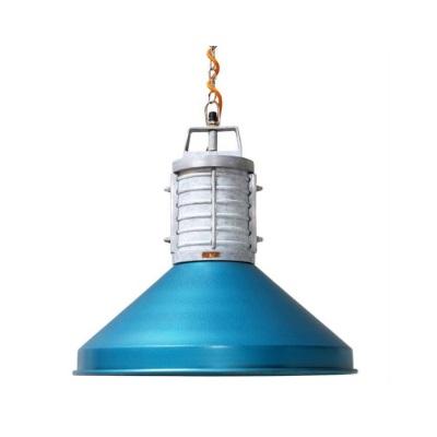 DoeHetZelf Outlet – Dronten-storebror hanglamp-rustic industrie blauw metaal IBB0058