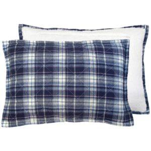 hk-living-storebror-kussen-gewatteerd-fleece-blauw-polyester-IBK2004