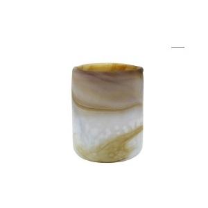 hk-living-glazen-waxinelichthouder-wit-bruin-gemeleerd-venus-AKA3313