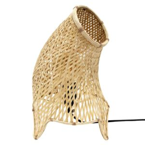 DoeHetZelf Outlet – Dronten-hk-living-organic-bamboo-wicker-tafellamp-m2 VOL5017