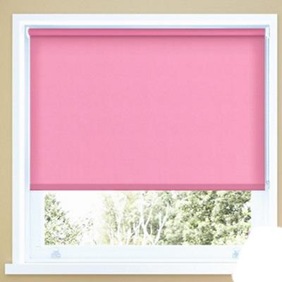 Rolgordijn ( VD ) in de kleur uni Roze