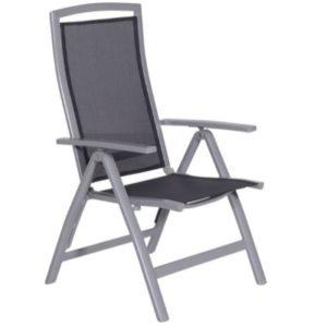 DoeHetZelf Outlet – Dronten-Garden Impressions - Saphir - verstelbare stoel - carbon grey antraciet