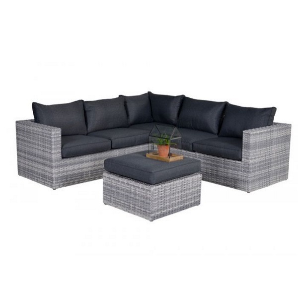 Outlet Loungeset Tuin.Garden Impressions Yellowbird Loungeset Cloudy Grey