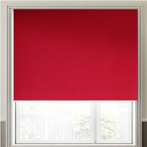 DoeHetZelf Outlet – Dronten-ntension Rolgordijn ( VD ) in de kleur uni Donker Rood